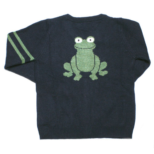 NICE THINGS Strickjacke Espalda Frog