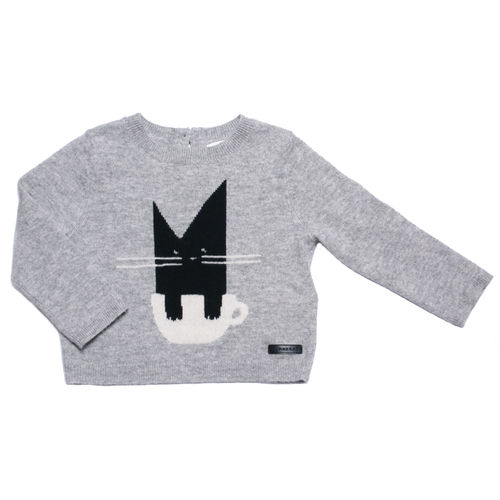 BURBERRY Pullover Katze