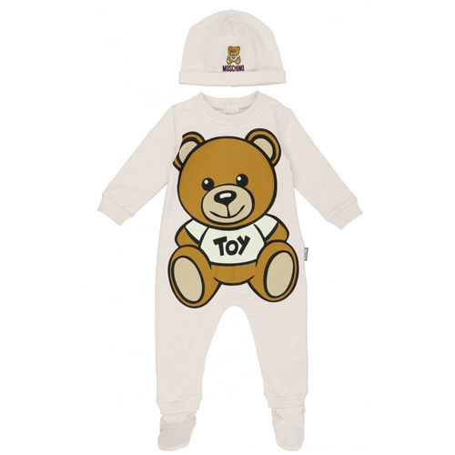 MOSCHINO Kit Einteiler und Hut Toy Bear