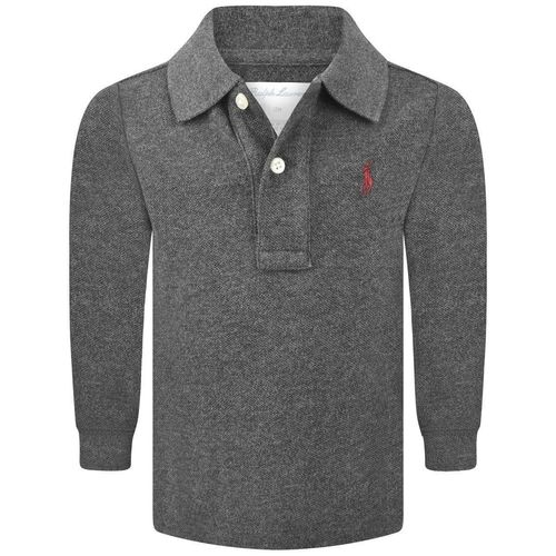 RALPH LAUREN Shirt Polo Grau