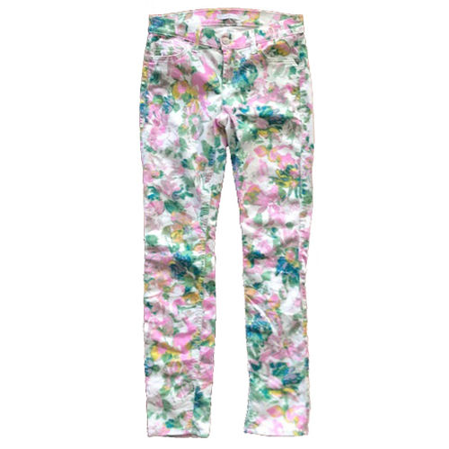 7 FOR ALL MANKIND Hose Floral