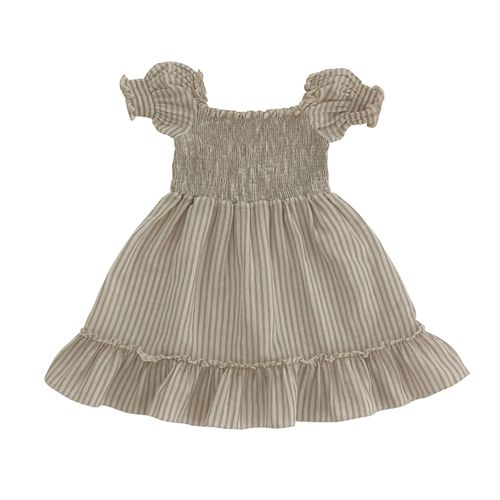 LIILU Kleid Smocked Sandy Stripes